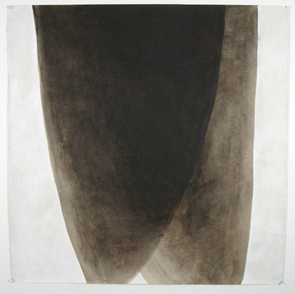 'One Dances', 2003. Acrylic on paper, 100 x 100cm Photo: Carl Warner.