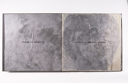'Image of Absence', 1995. Catalogue.