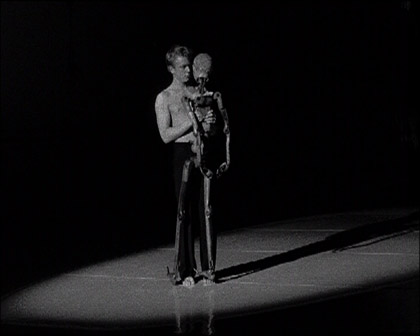 'One Dances', 2003. Video still.