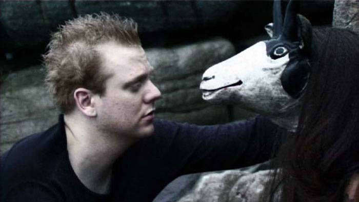 'A Fable' 2008, 8 mins. Actor: Luke Wright, Camera: Peter Wright