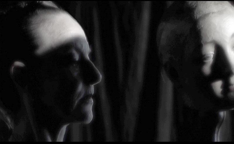 'Between' 2007, 8 mins. Actors: Graeme Murphy and Janet Vernon, Cinematography: Robert Humphries, Composer: Liza Lim, Voice: Deborah Kayser