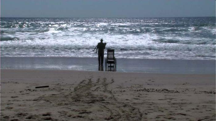 'Faburden' 2008, 4 mins. Actor: Robert Elliot, Camera: Peter Wright