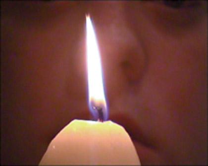 'Gourd', 1999. Video still.