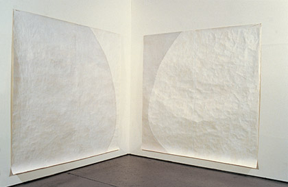 'Blind of Sight III', 2000-2002. Installation view, acrylic on paper, each 200x200cm.  Photograph: Jon Linkins