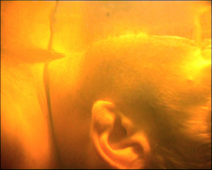'Skin', 1999. Video still.