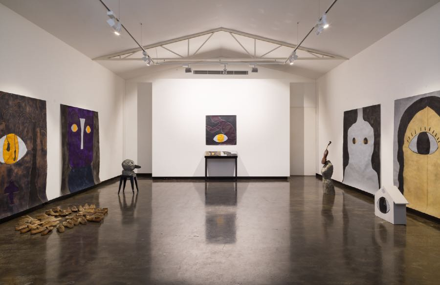 Installation view of main gallery